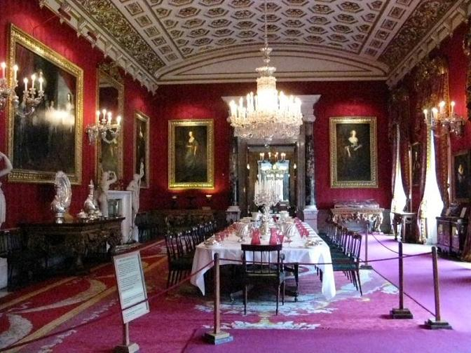 Chatsworth house restaurants