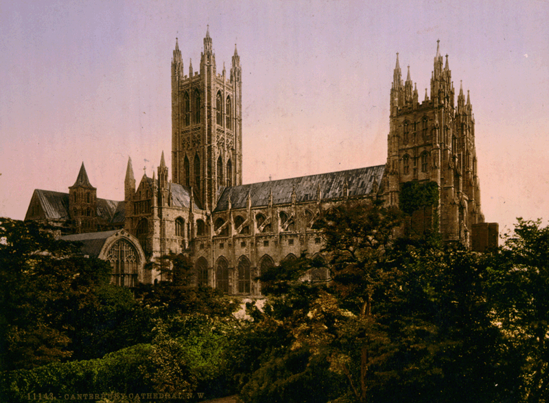 Кентерберийский собор (Canterbury cathedral)