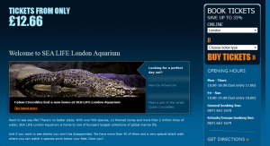 Аквариум (London Aquarium)