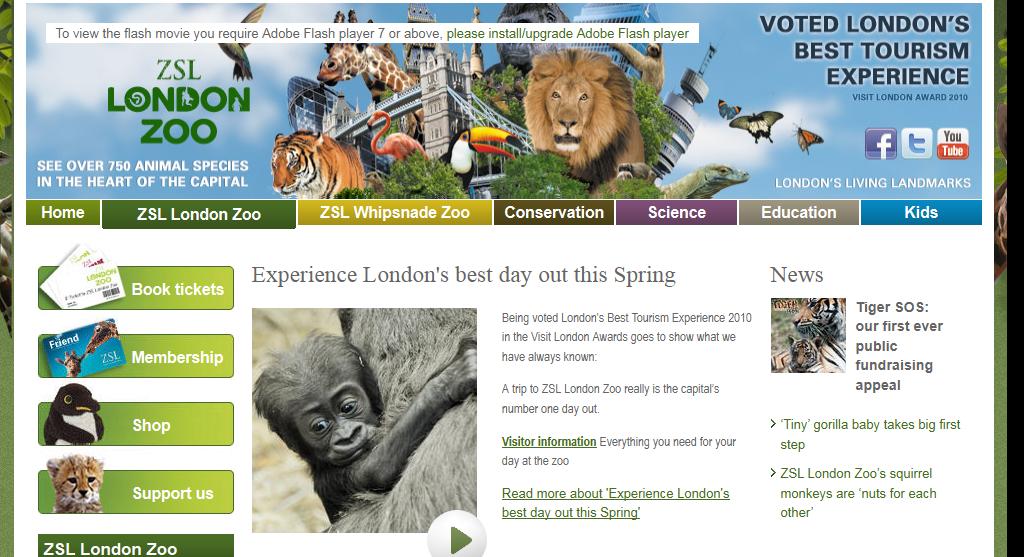 Зоопарк (London Zoo)