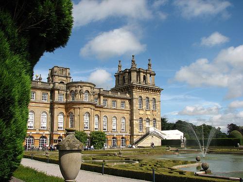 Дворец Бленхейм (Blenheim palace)